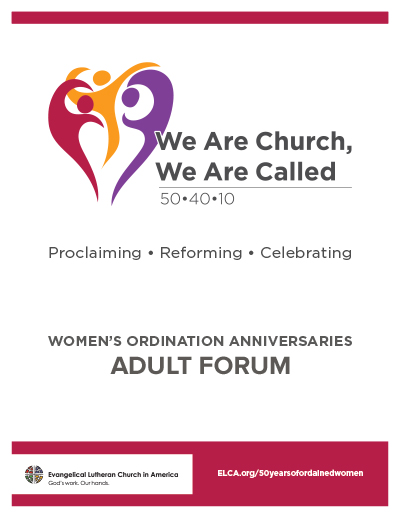 50 Years of Ordained Women - Adult Forum