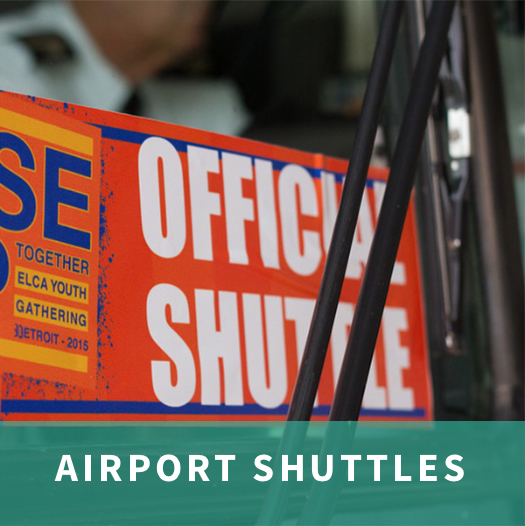 Sign up for Airport Shuttles