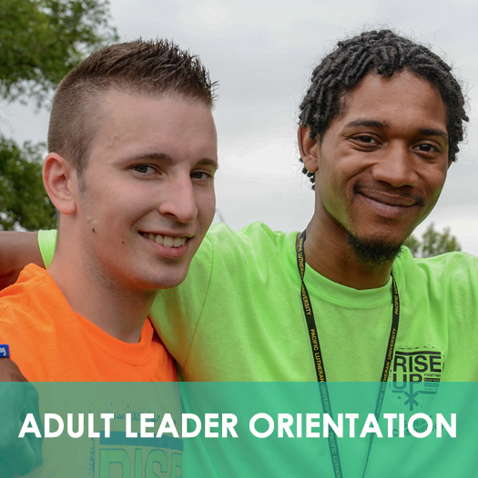 Adult Leader Orientation