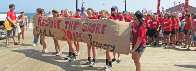 Youth continue Sandy recovery
