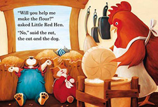 The Gospel and the Little Red Hen