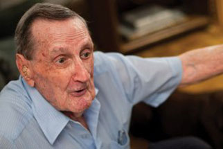Special delivery for Jim Freeman