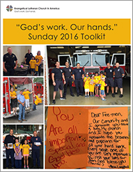 """God's work. Our hands."" Sunday Toolkit"