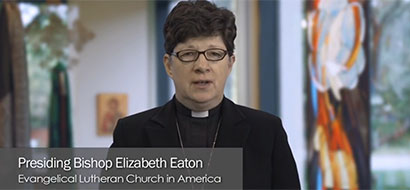 Bishop Eaton addresses issues of racial justice
