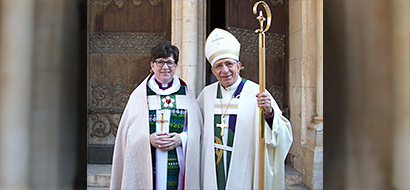 ELCA presiding bishop visits the Holy Land