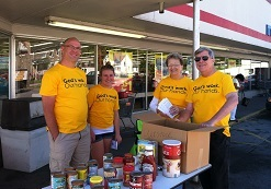 Food drive benefits pantries