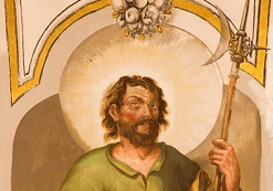 The feast day of St. Matthias