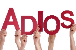 Adios – go with God