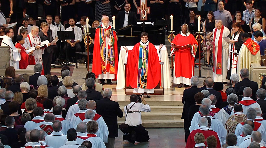 The installation of Bishop Eaton